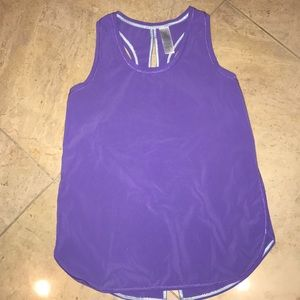 Lululemon's Ivviva Girls Purple Tank Top